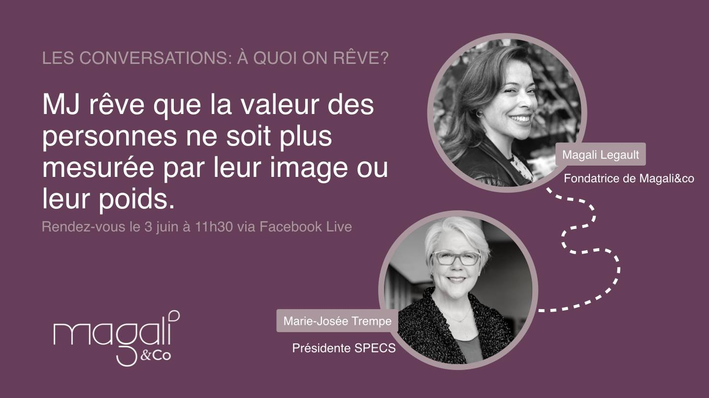 Marie-Josée Trempe 3 juin : La beauté des différences